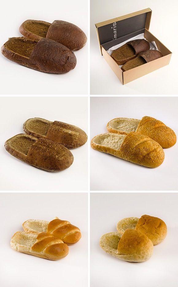 Bread Shoes by R Praspaliauskas