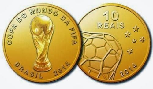Brazil will issue 2014 World Cup coins