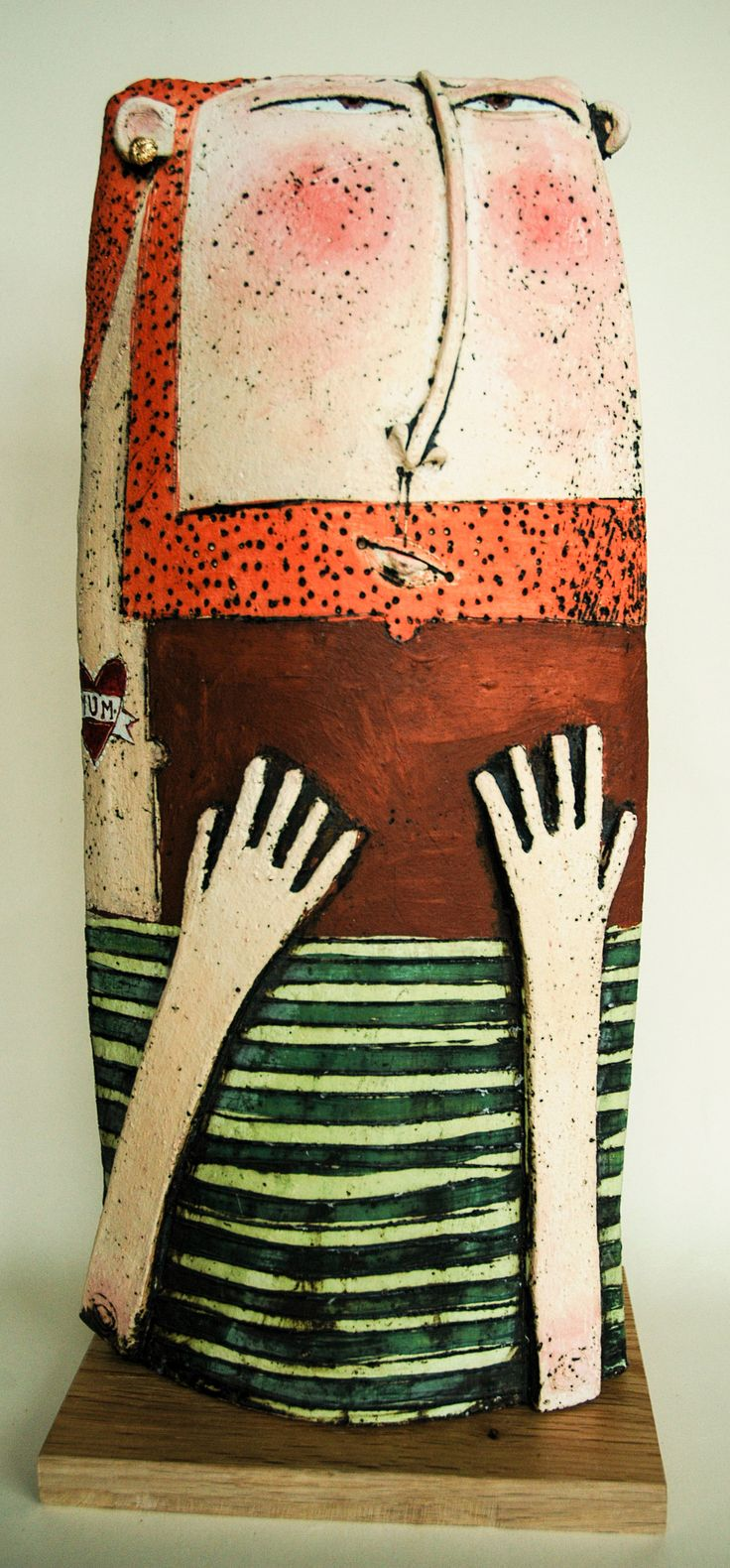 Sarah Saunders ceramic figures are quirky and fun; if your Dad is too this could be the perfect gift!