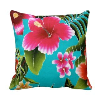 Pink Hawaiian Pillows