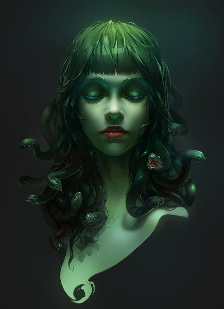 Medusa  art by Zhao Jialin / Beijing, China