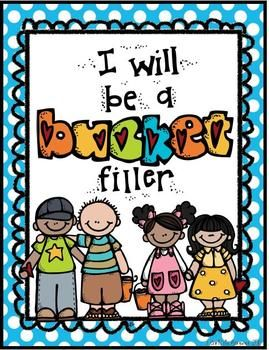 Bucket Filler Posters {Freebie} - First Grade Fever by Christie - TeachersPayTeachers.com