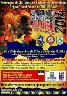 Lutador de jiu-jitsu: Campeonato Pernambucano de jiu-jitsu 2014
