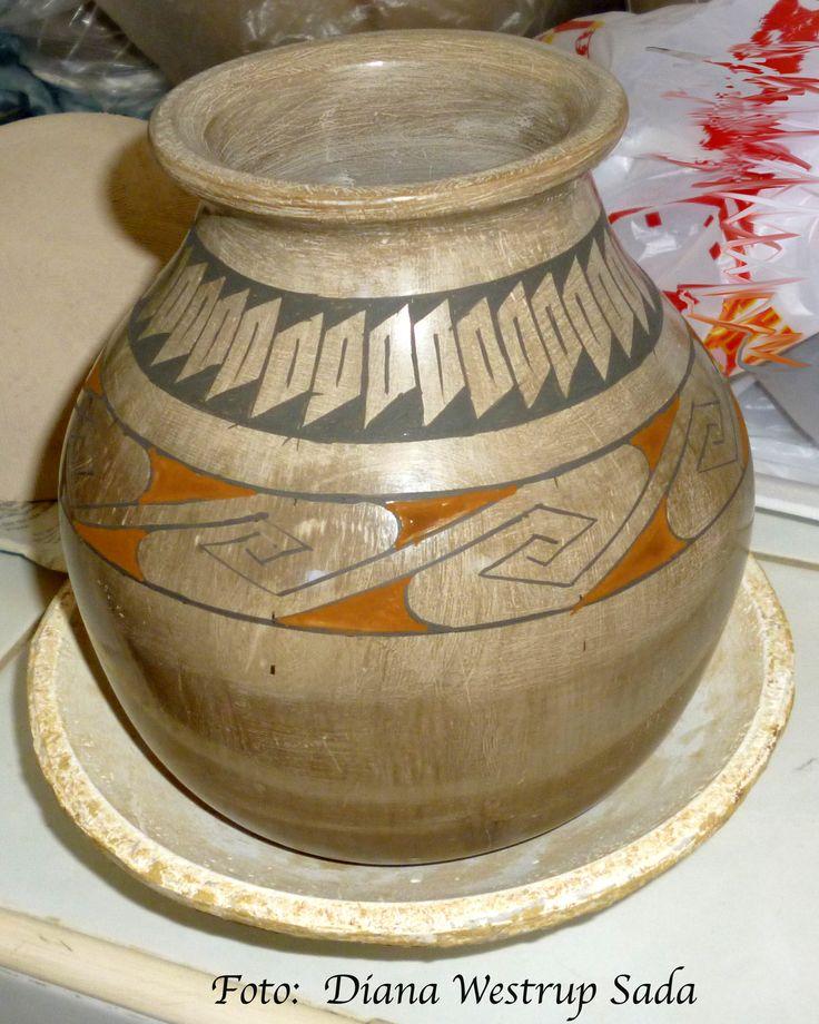 Taller de cerámica Paquimé del Maestro Eusebio Ortega Moreno, en Cancún, Quintana Roo, México. http://dianawestrup.wordpress.com