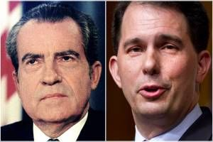 """More Nixonian than Nixon"": Scott Walker's latest scandal lays bare his shady tactics"