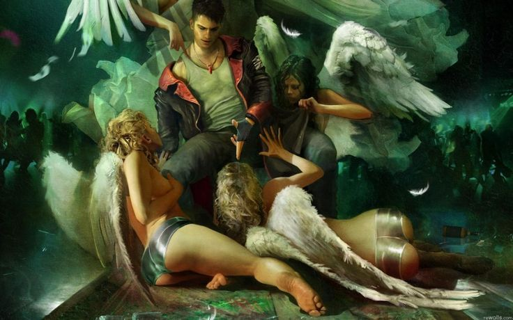 Angels Depravation Download free addictive high quality photos,beautiful images and amazing digital art graphics about Fantasy / Imagination.