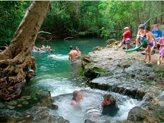 The Spa Pool near Cardwell. Cairns to Townsville road trip, Queensland, Australia. Photo: Cardwell Tourism.