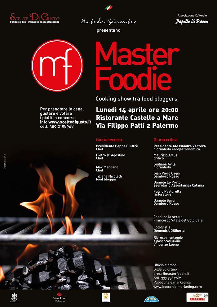 Master Foodie, un gioco da food blogger #food #wine #event #contest #palermo