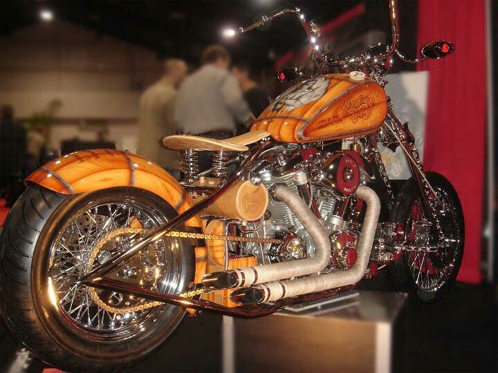 Indian Larry Tribute Bike built at Motorcycle Enhancements