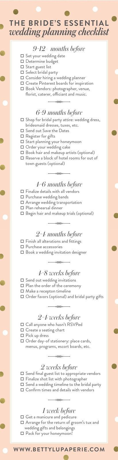 wedding planning checklist best photos - wedding planning  - cuteweddingideas.com