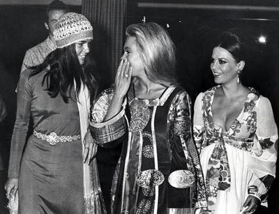 Ali MacGraw (pictured here with Dyan Cannon and Natalie Wood)