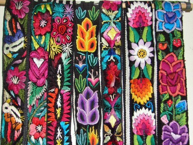 Chichicastenango Guatemala (Quiche) Hand-woven Mayan Textiles: Tzutes, Shawls (rebozos), belts from Terra Experience