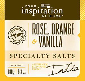 A tropical fusion of delicate rose petals, organic vanilla and sweet orange…