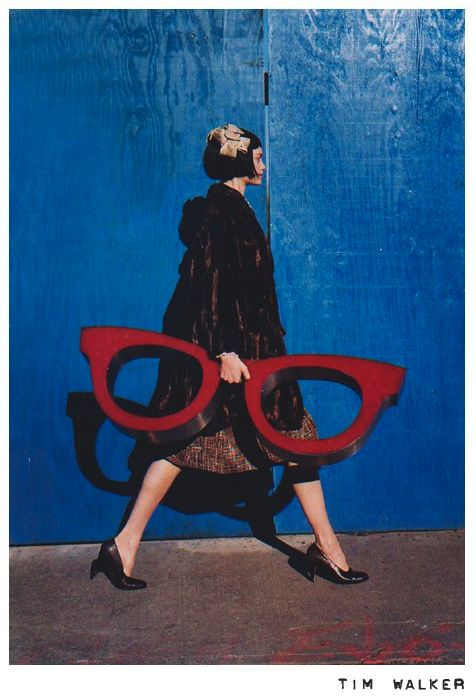 From fashion photographer: Tim Walker. Great color. #4eyes