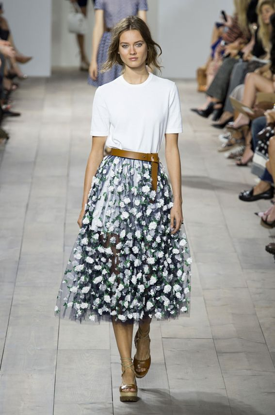 NY FW S/S 2015 Michael Kors. See all fashion show at: http://www.bookmoda.com/?p=28753 #spring #summer #ss #fashionweek #catwalk #fashionshow #womansfashion #woman #fashion #style #look #collection #NY #michaelkors @michaelkors