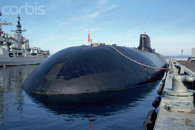 Russian Typhoon Class Submarine