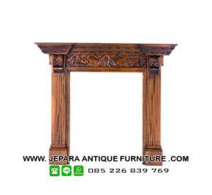 Model kusen perapian kayu