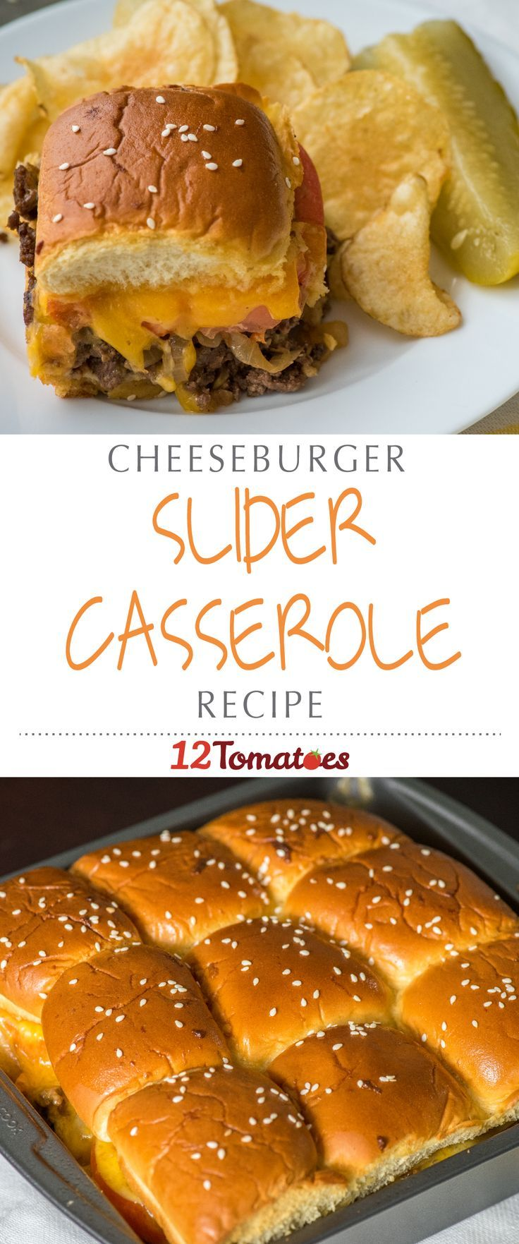 Cheeseburger Casserole | The best part is, we can bake these little gems up as a big batch casserole, making them one of the easiest and tastiest ways to enjoy a cheeseburger!