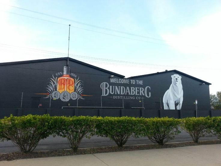 Bundaberg Rum Distillery in Bundaberg East, QLD