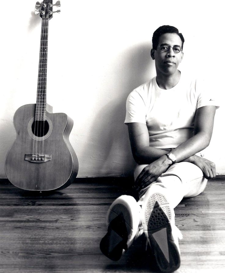 colored section.  Stanley Clarke