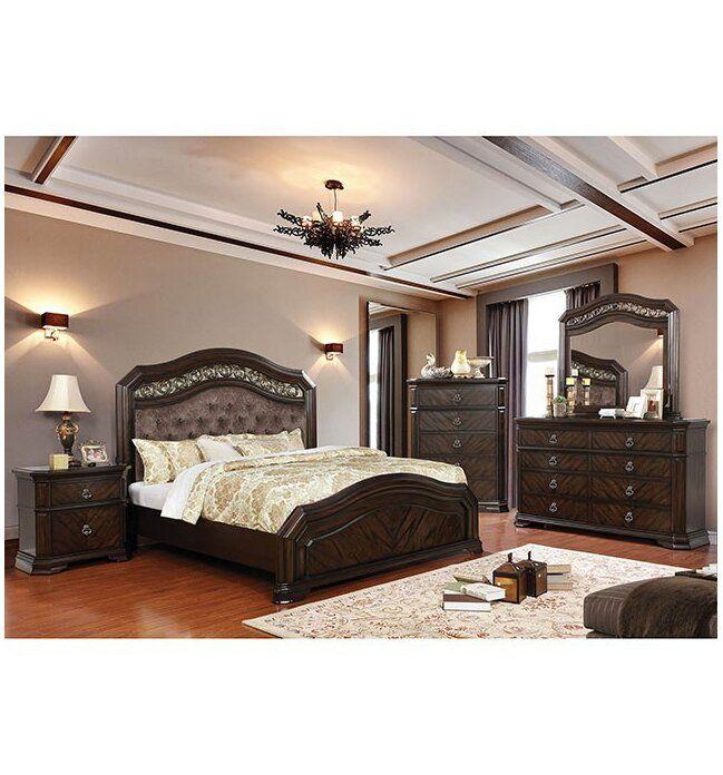 Robert California King Upholstered Standard Configurable Bedroom Set Bedroom Sets Queen King Bedroom Sets Bedroom Furniture Sets
