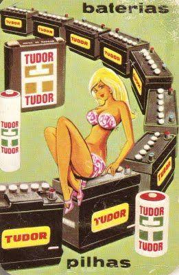 E era uma vez um calendário para o ano de 1974, da Tudor.