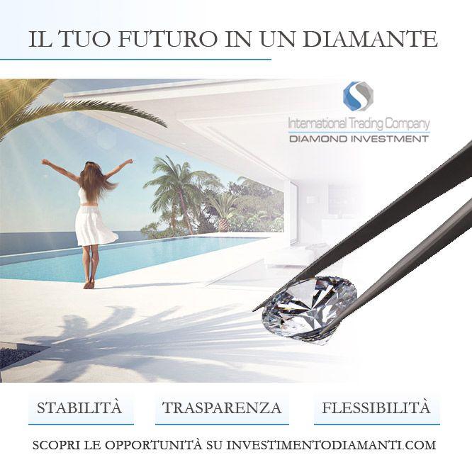 https://itcportale.it/?p=9733 Investi in totale sicurezza.  Scopri le opportunità su http://www.investimentodiamanti.com/