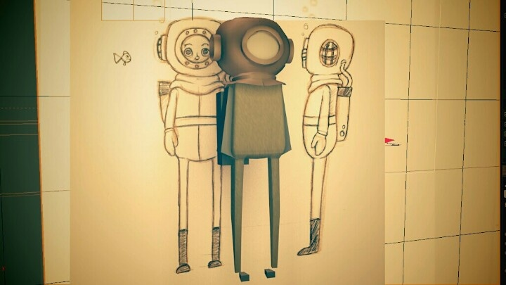 Cinema 4d Character Design Tutorials : Building cg diver character in cinema d tutorials