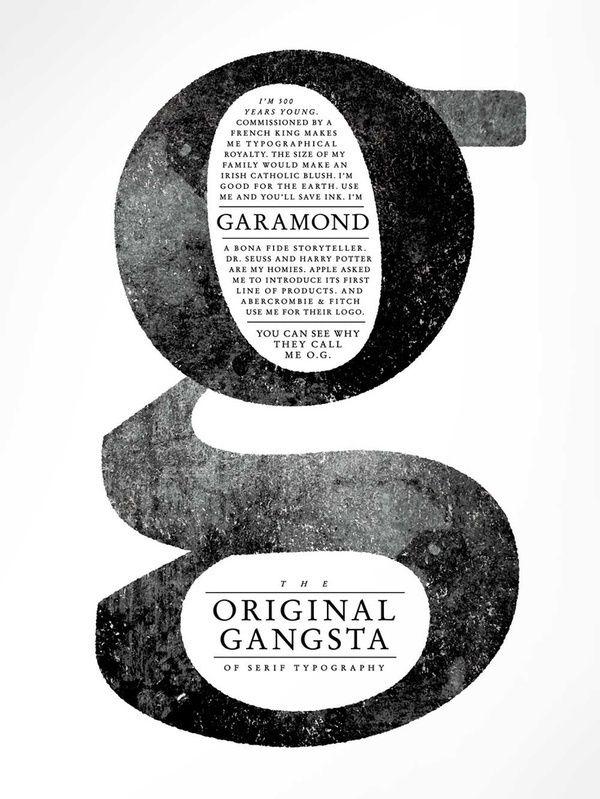 OG Garamond in Typography