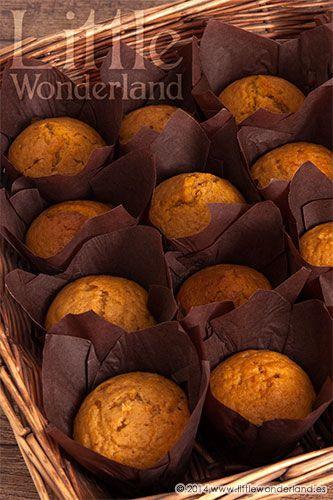 Muffins de calabaza   Pumpkin muffins