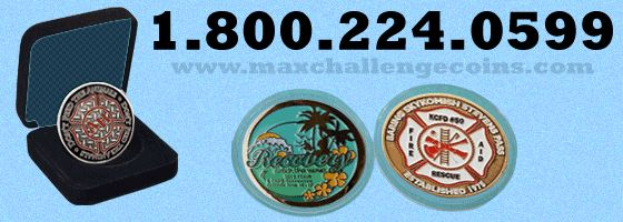 Most of the custom challenge coins can be termed as medals. Many service members are sort of addicted to the collection of various custom challenge coins. The customized challenge coins look different, for more details log on to http://www.maxchallengecoins.com/custom-challenge-coins
