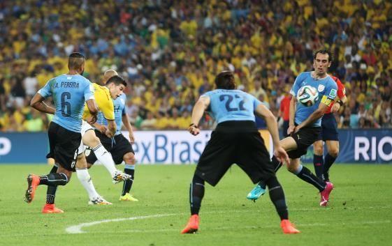 James Rodríguez, la mejor carta de Colombia
