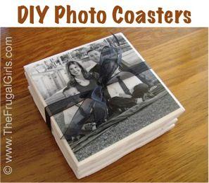 How to Make Photo Coasters