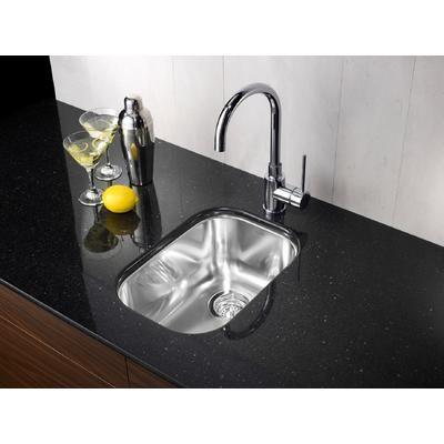 Blanco - Évier de cuisine en acier inoxydable, 1/2 cuve, montage sous plan - SOP402 - Home Depot Canada