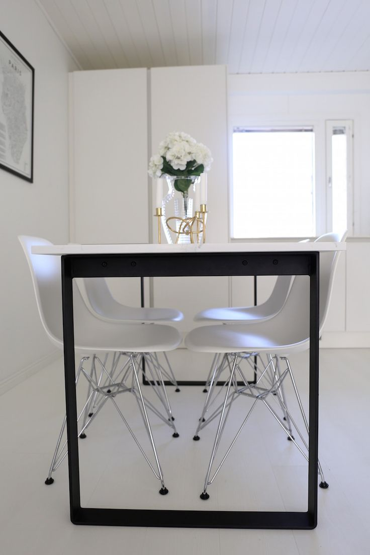 Fancy Homevialaura made to order dining table calacatta marble quartz white and