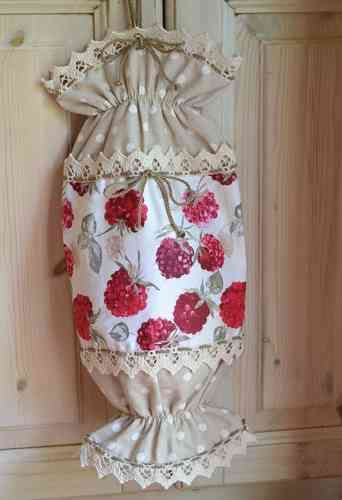 CANDY SHAPED HOLDER FOR PLASTIC BAGS - WILD BERRIES Collection