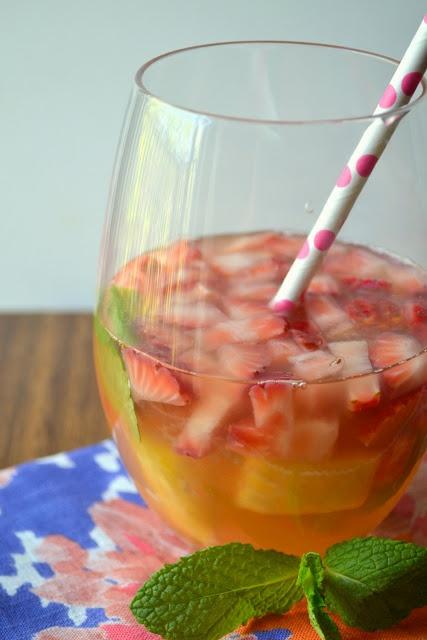 Strawberry Pineapple Sangria recipe