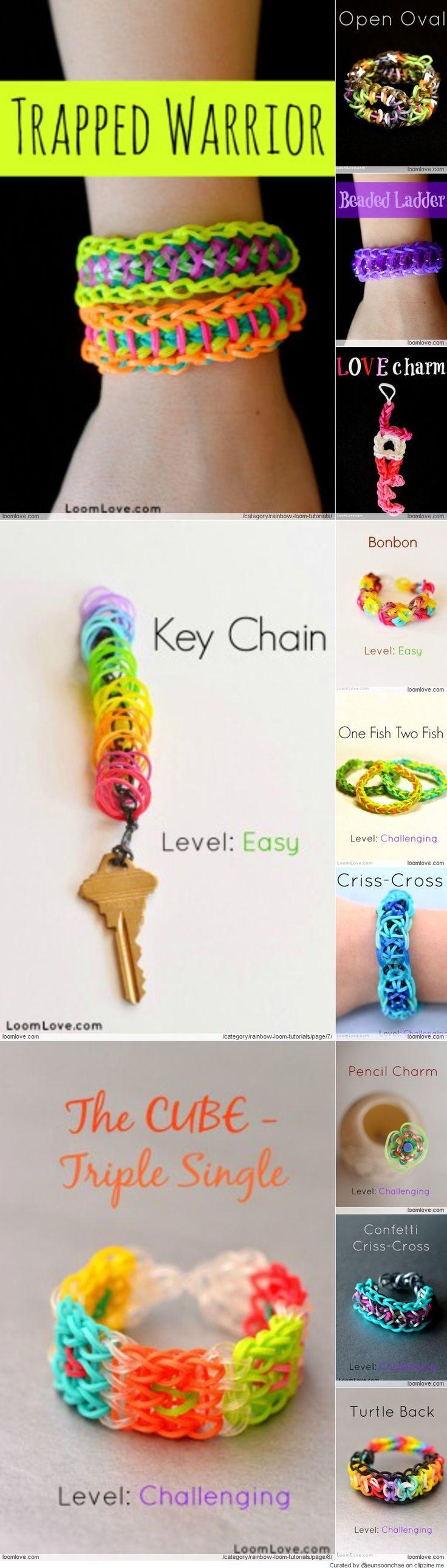 Rainbow Loom Tutorials : Loomlove