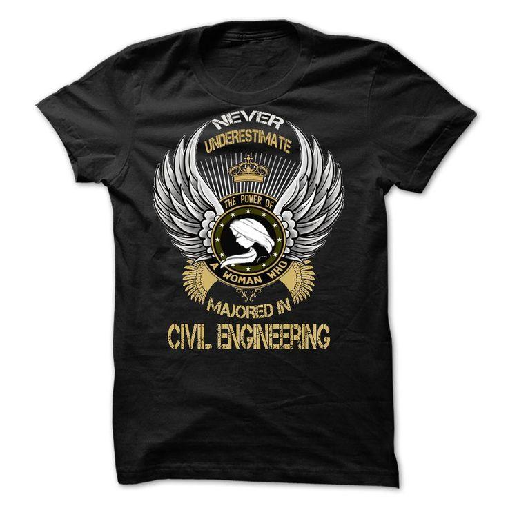 Majored In Civil Engineering T Shirt, Hoodie, Sweatshirt