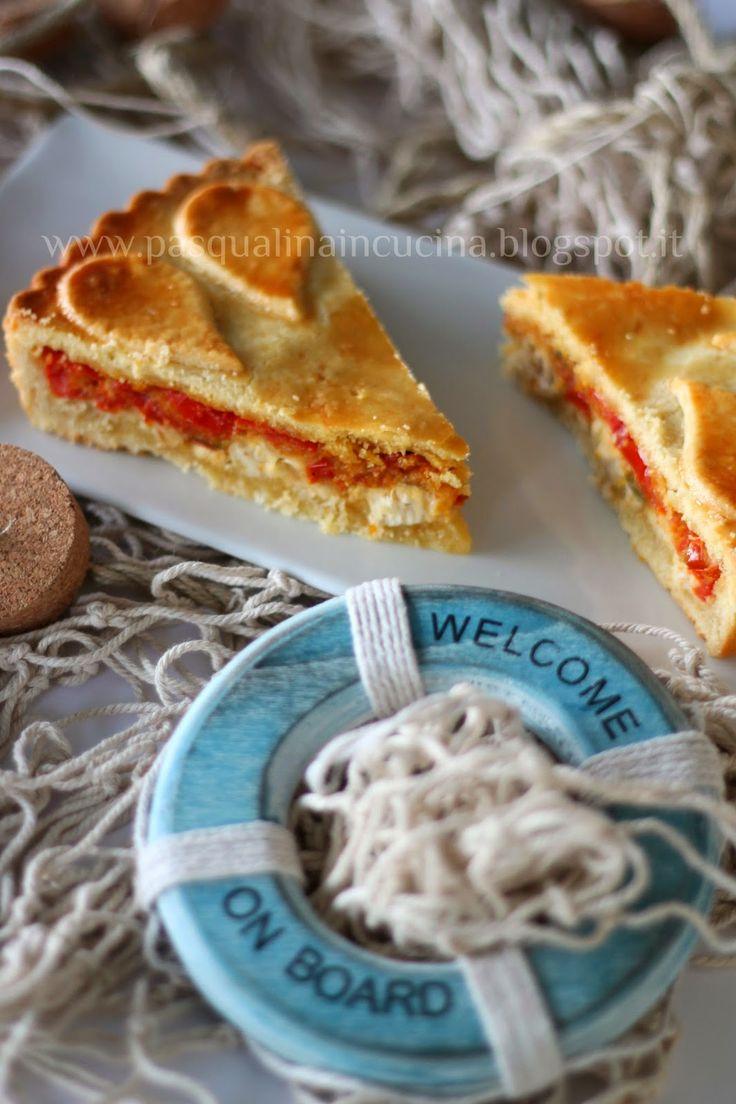 Pasqualina in cucina: Torta di pesce spada