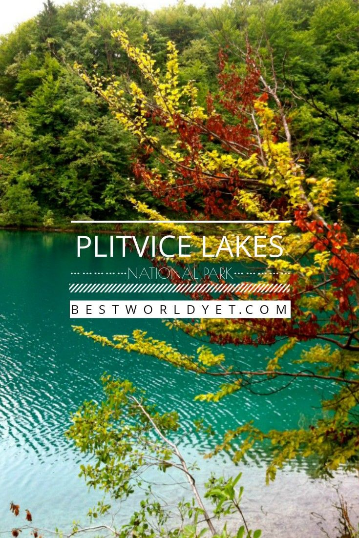What colors will you see when you visit Plitvice Lakes Natoinal Park? We are in awe of this ever-changing canvas in Central, Croatia!