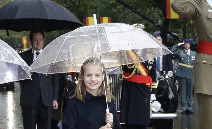 First official solo photo released of Leonor, Princess of Asturias