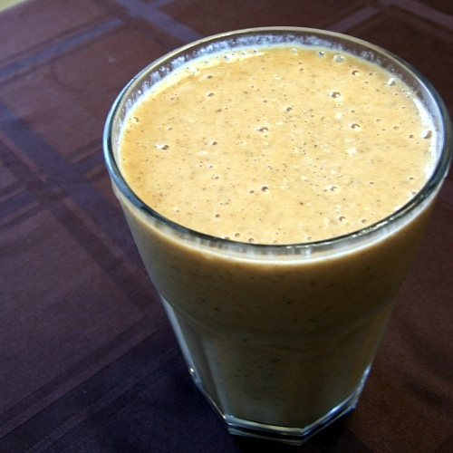Gingerbread Smoothie.  I love anything ginger.  This reminds me that I'm out of blackstrap molasses.