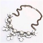 Black and white statement necklace $14.99  Free shipping over $25