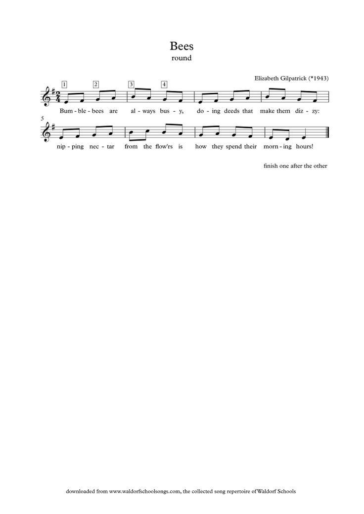 Waldorf School Songs