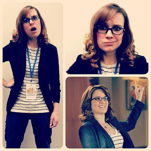 Why didn't I ever think of being LIZ LEMON for halloween?!?!