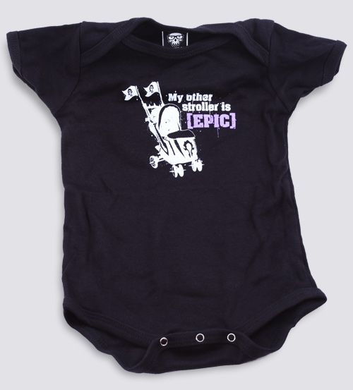 J Nx World Of Warcraft Epic Stroller Baby One Piece