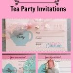 How To Make Tea Party Invitations this are just to cute #teaparty #HomeMattersParty
