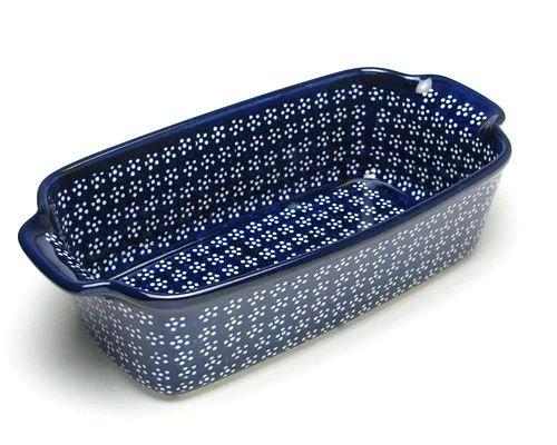 ◆グラタン皿(深)L◆(G3-005Ai) - ポーランド食器,陶器の店*マチトキ*ボレスワヴィエツ陶器(ポーリッシュポタリー)を紹介。
