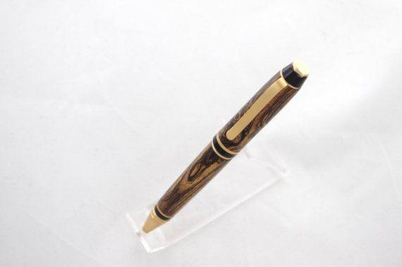 Cigar Pen Wooden Pen Handcrafted Wooden Pen Pen by DJwoodcrafts